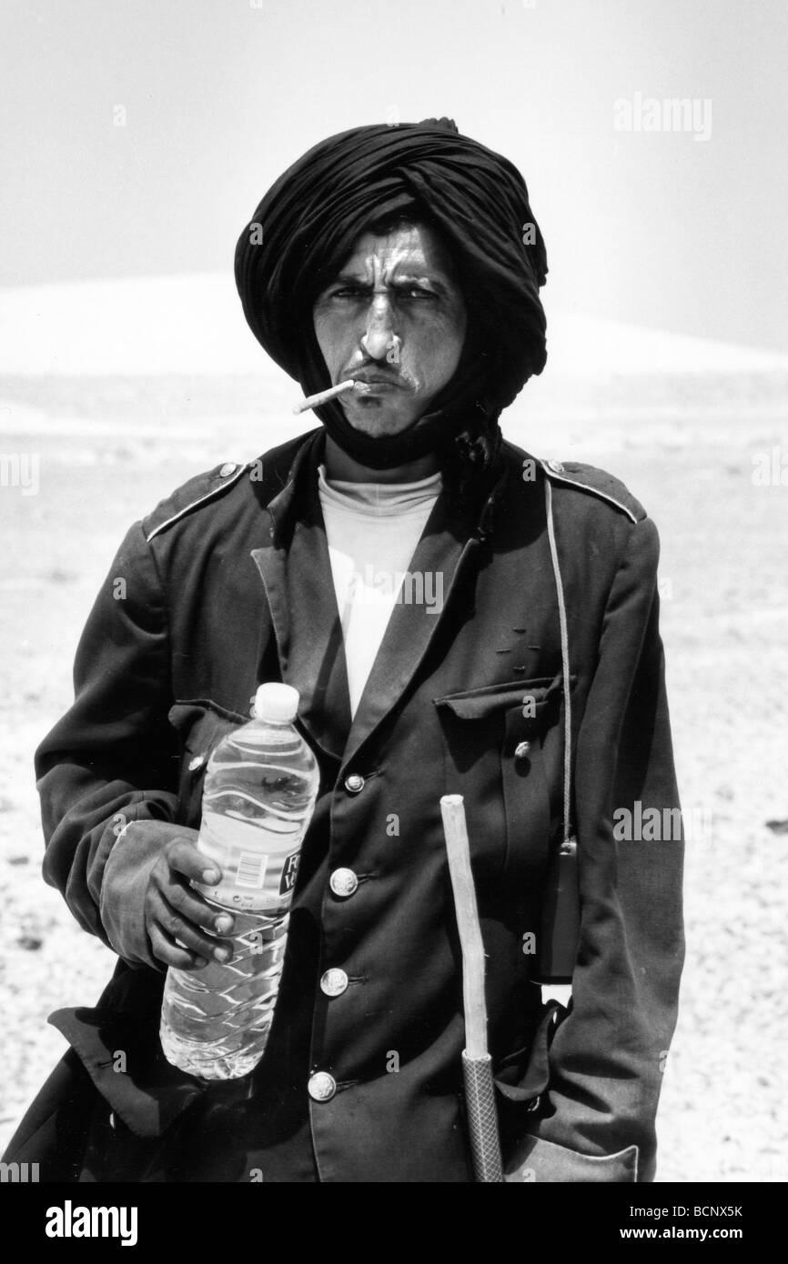 western sahara morocco guerguarat - Stock Image
