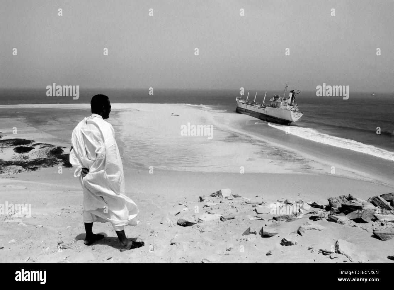 mauritania nouadihbou - Stock Image