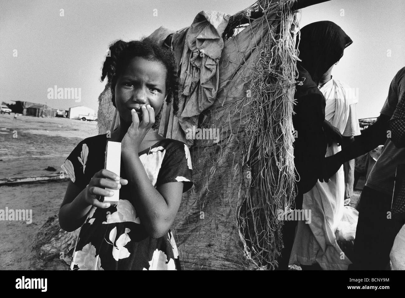mauritania iouik - Stock Image