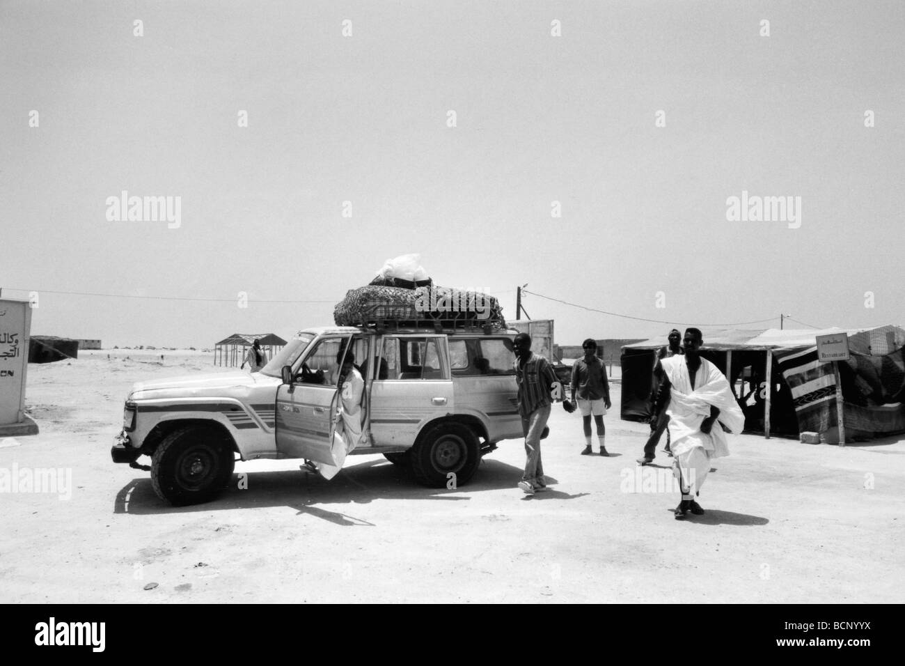 mauritania nouamghar - Stock Image