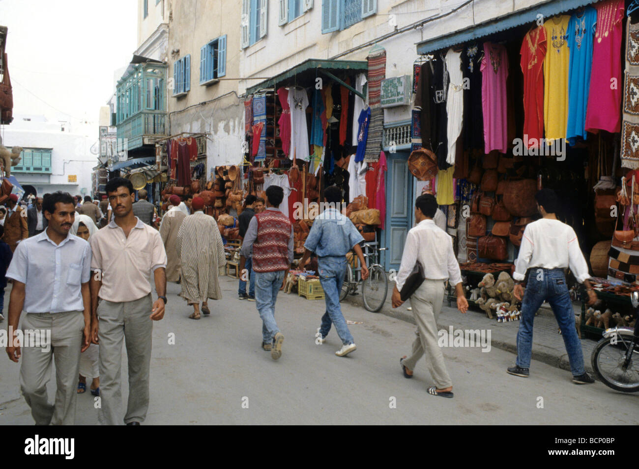 tunisia Daily life in the centre of Kairouan - Stock Image