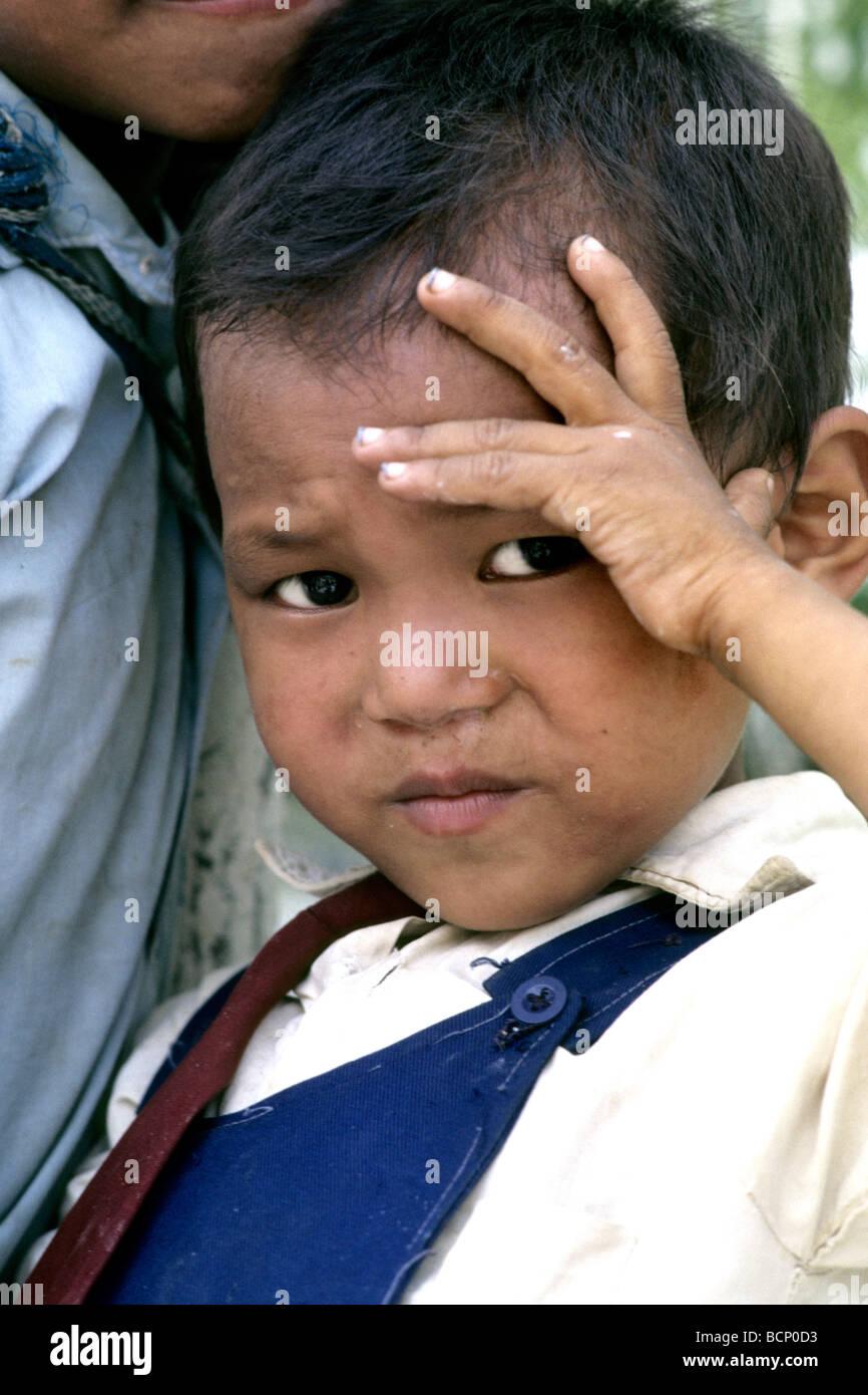 katmandu nepal daily life - Stock Image