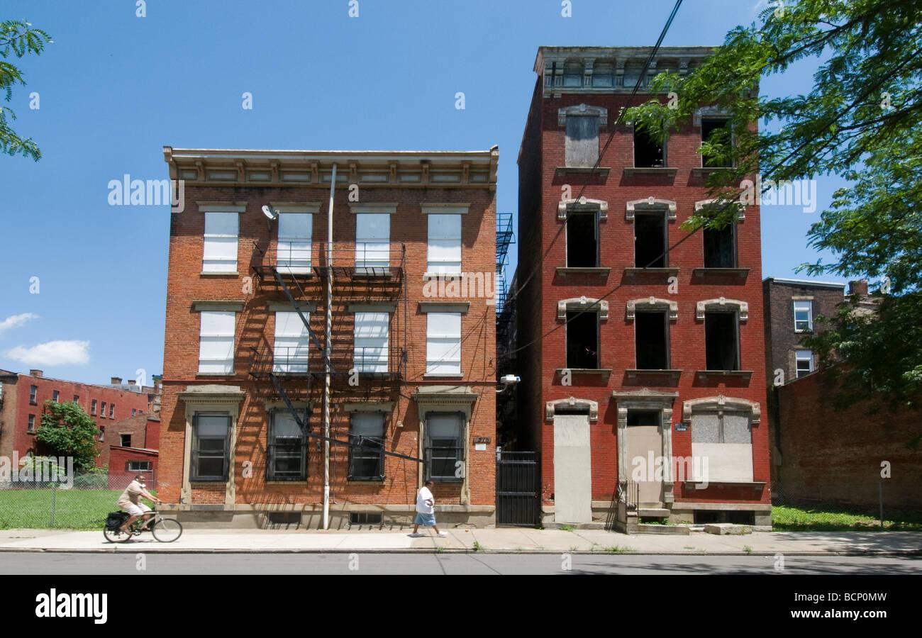 Cincinnati redevelopment project - Stock Image