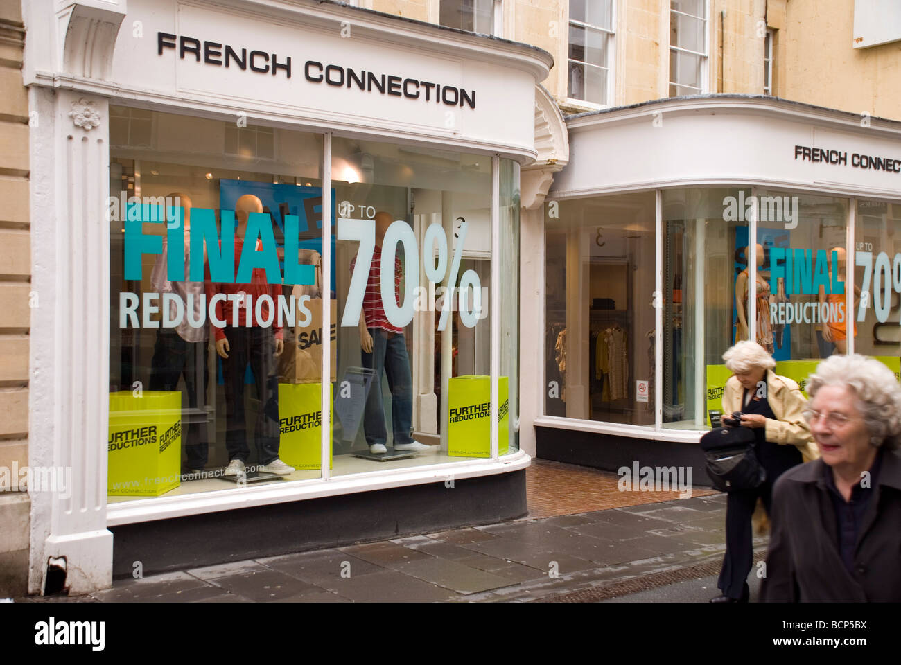 662e7546c89 Bath BaNES England UK Sale on at French Connection clothing store - Stock  Image