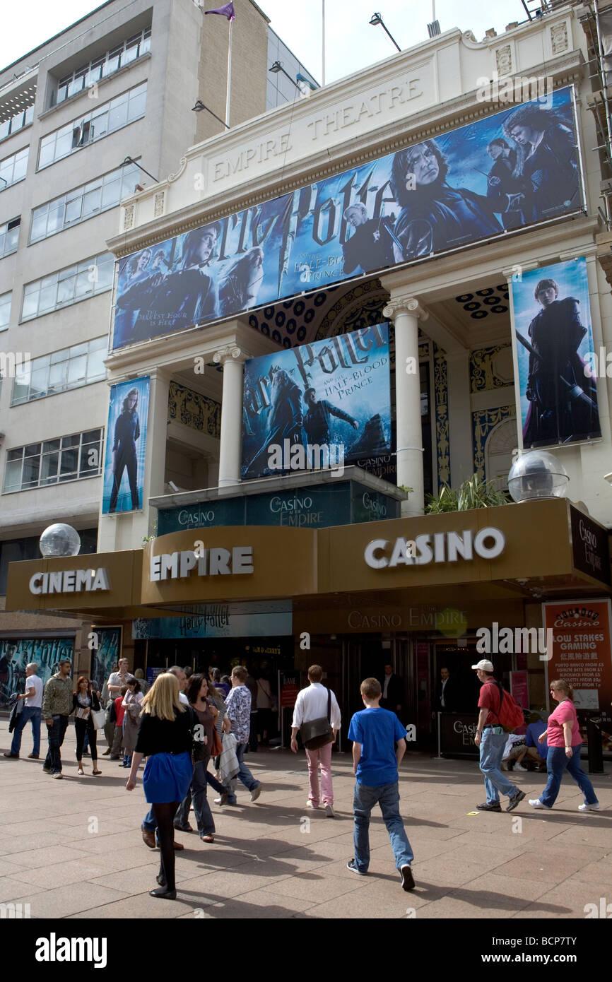 Empire Cinema in Leicester Square Stock Photo