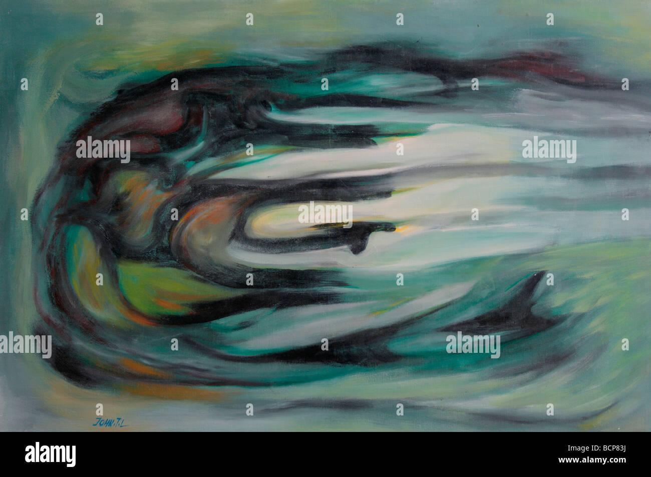Twist, Abstract Illustration - Stock Image
