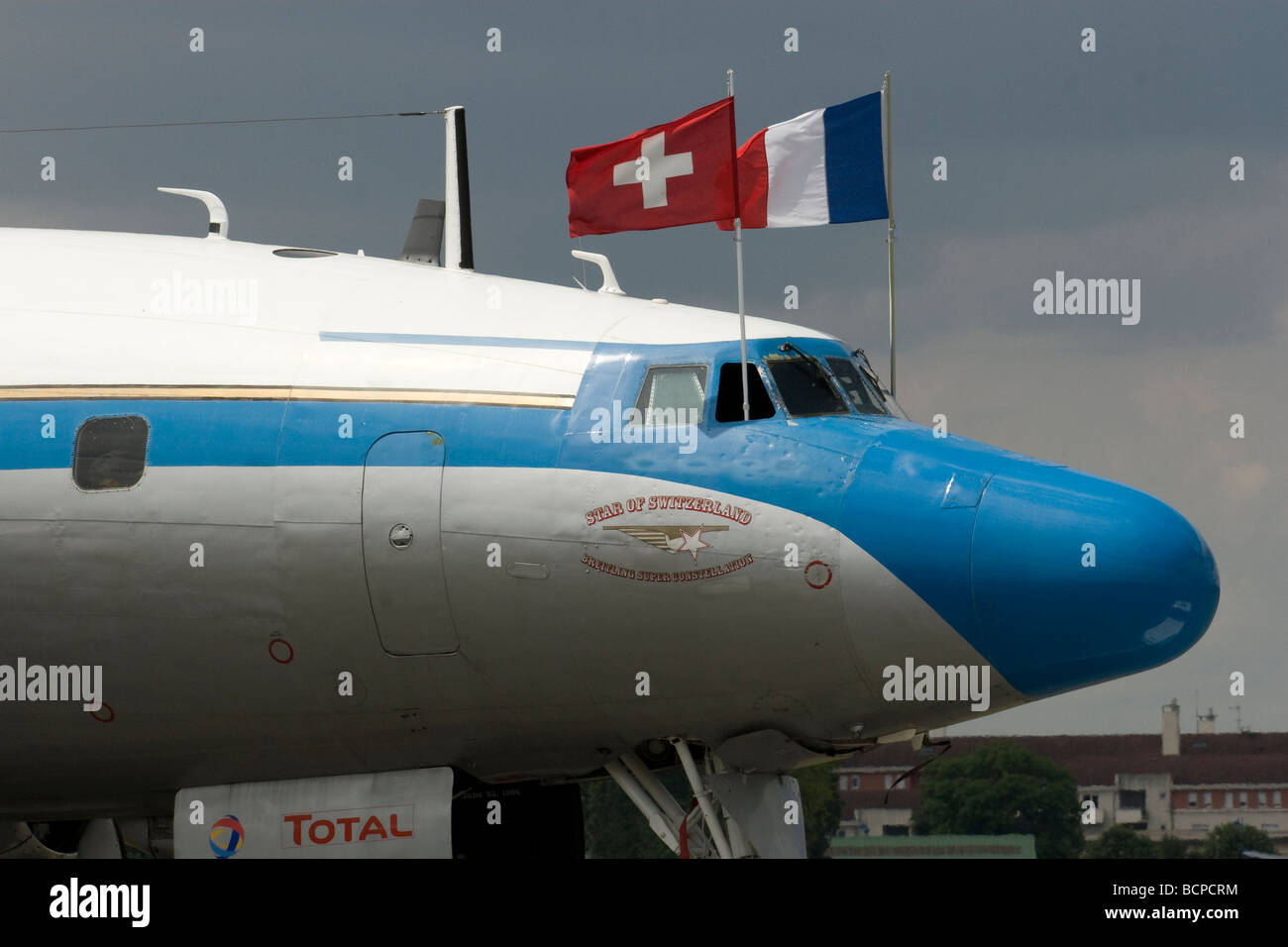 Constellation Airplane Paris Airshow 2009 - Stock Image