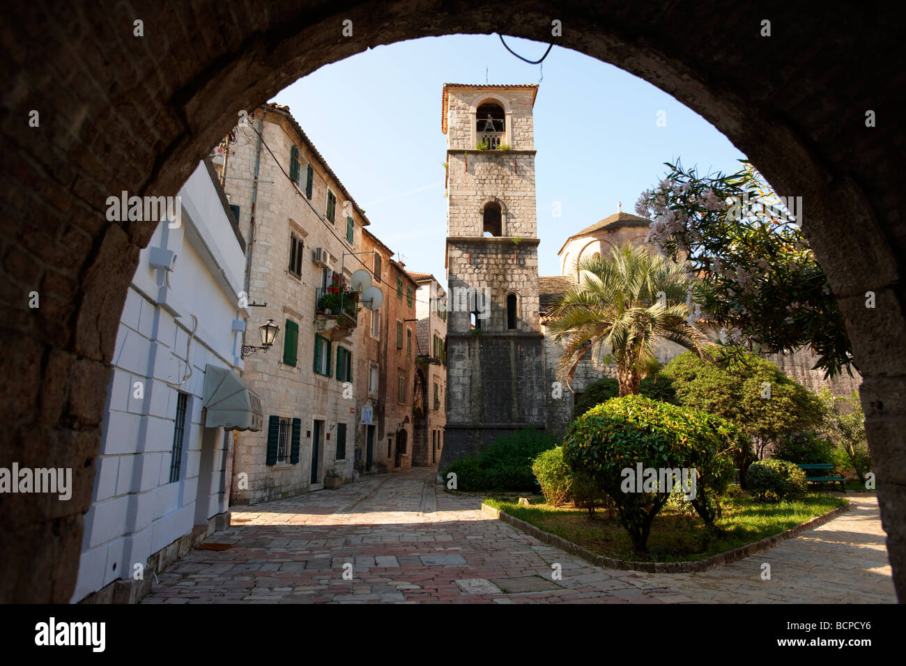 Church Kotor - Montenegro - Stock Image