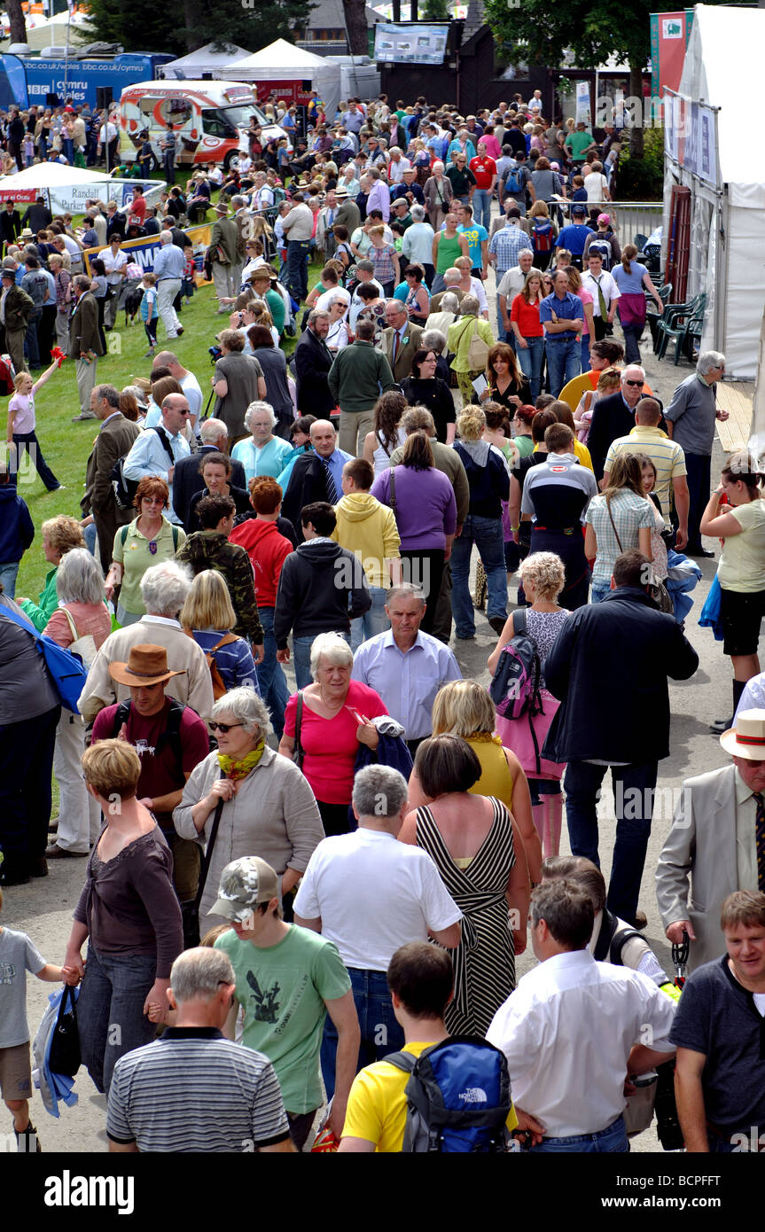 The Royal Welsh Show, Builth Wells, Powys, Wales, UK Stock Photo