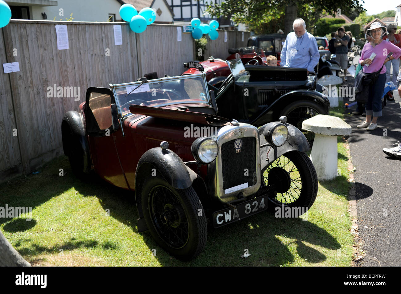 Old Austin cars on display Stock Photo: 25081613 - Alamy