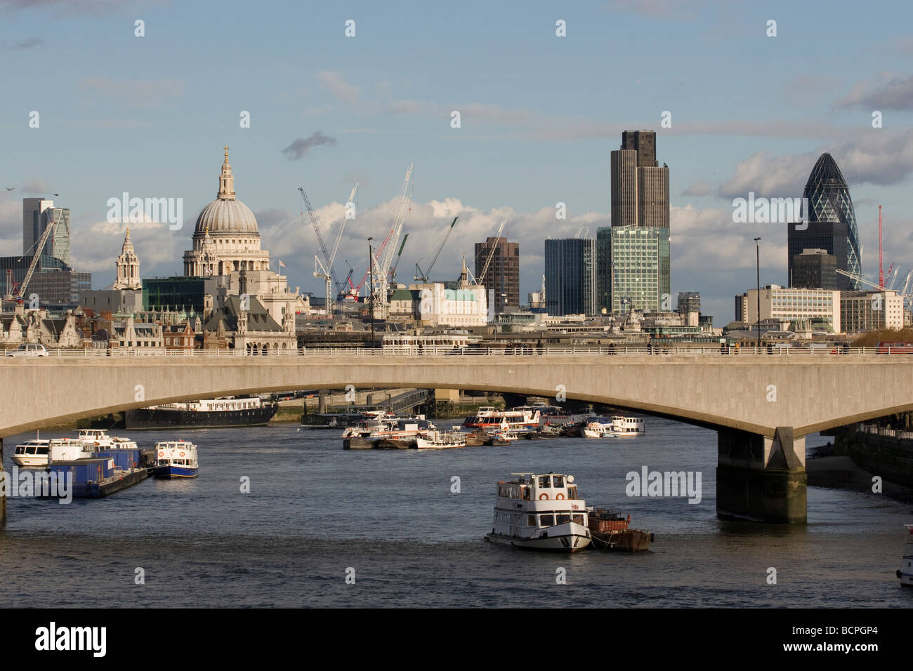 View Of City Of London And Saint Paul S Cathedral From