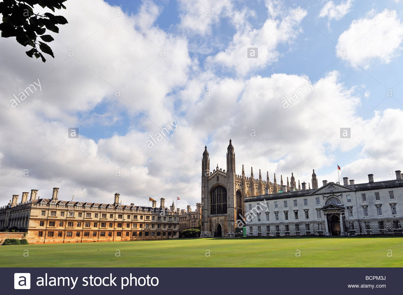 Kings College at Cambridge - Stock Image