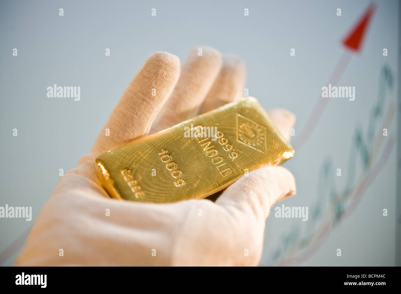 Ein Goldbarren 1 Kg Gold Bar Stock Photo 25084988 Alamy