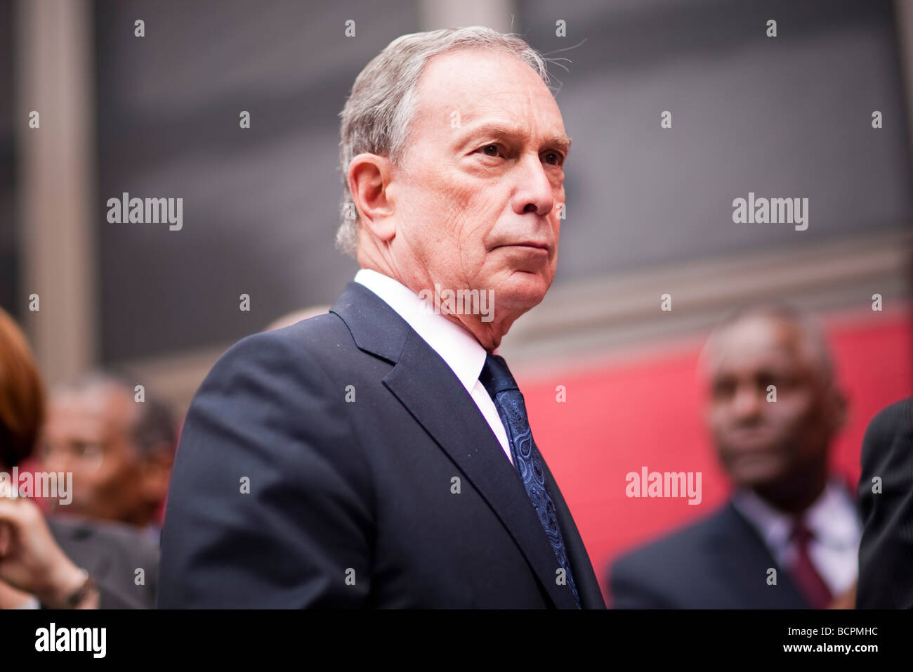 New York City Mayor Mike Bloomberg in New York USA 15 May 2009 - Stock Image