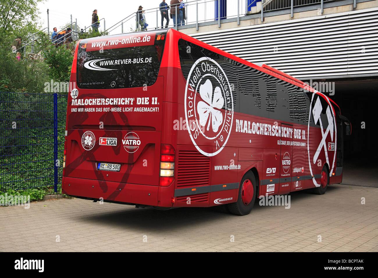 D-Duisburg, Ruhr area, North Rhine-Westphalia, sports, football, 2nd Bundesliga, 2008/2009, MSV Duisburg versus - Stock Image