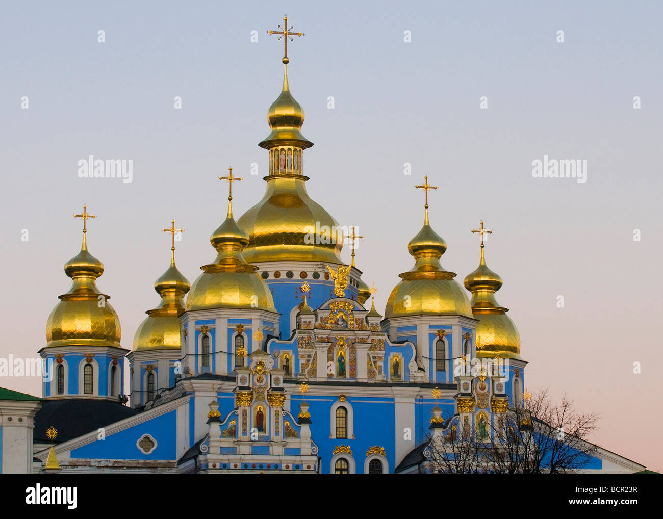 St Sofia Cathedral in Kiev the capital of Ukraine - Stock Image