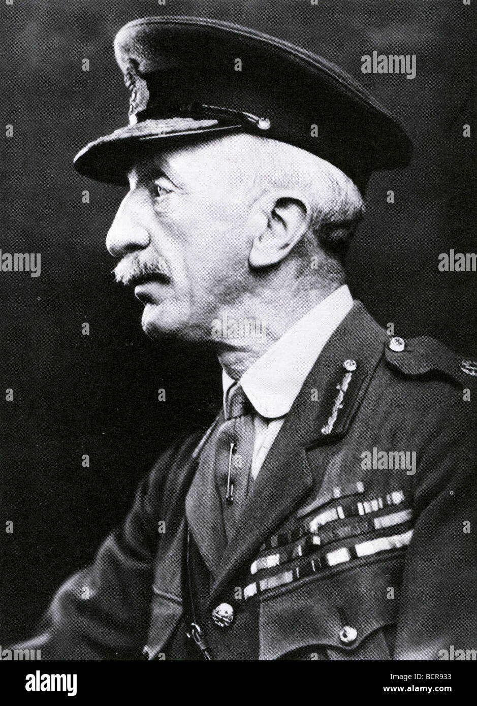 FIELD MARSHALL SIR HENRY WILSON who was killed by the IRA in 1922 - Stock Image