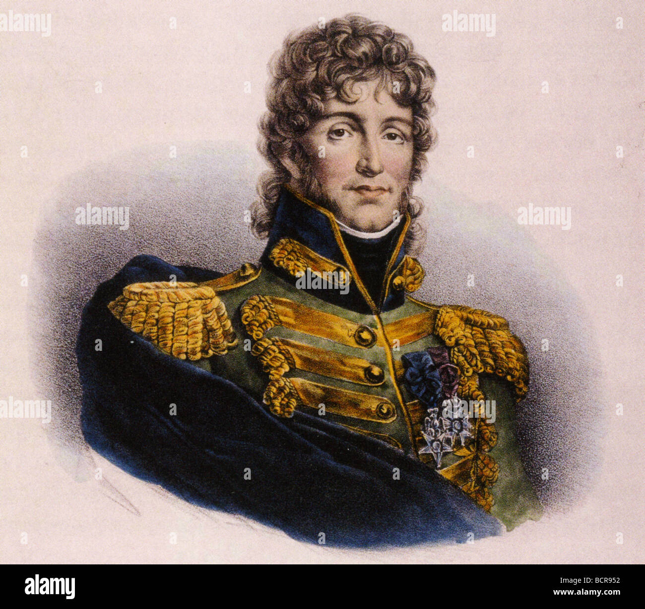 JOACHIM MURAT   French soldier and King of Naples 1767-1815 - Stock Image