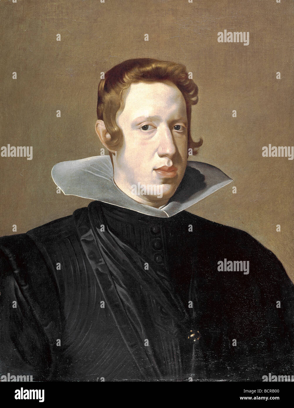 Philip IV by Diego Velazquez, 1599-1660 - Stock Image