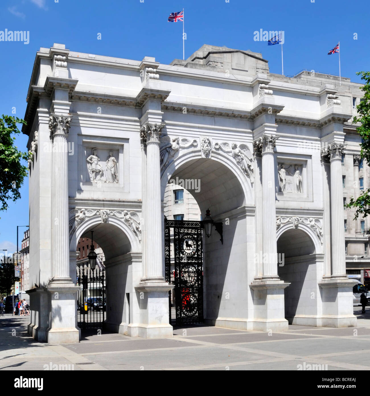 Marble Arch London Stock Photos Amp Marble Arch London Stock