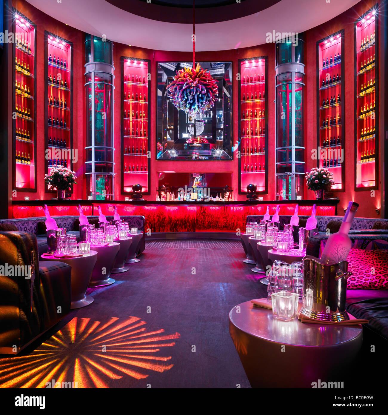 Set Miami nightclub, Miami Beach, Florida, USA - Stock Image