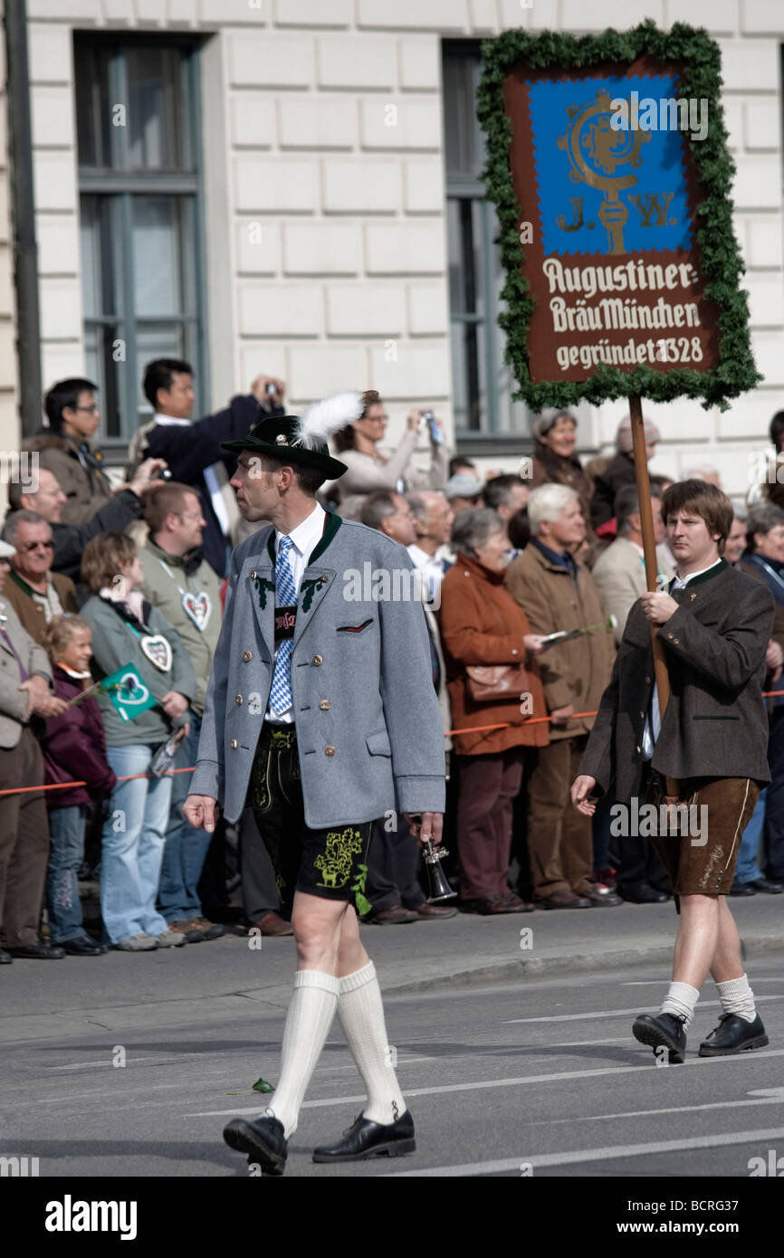 Octoberfest parade in Munich, Germany 2008 - Stock Image