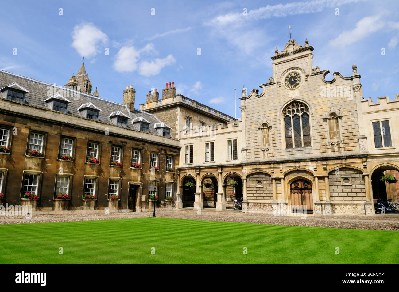 Peterhouse College, Cambridge England UK - Stock Image