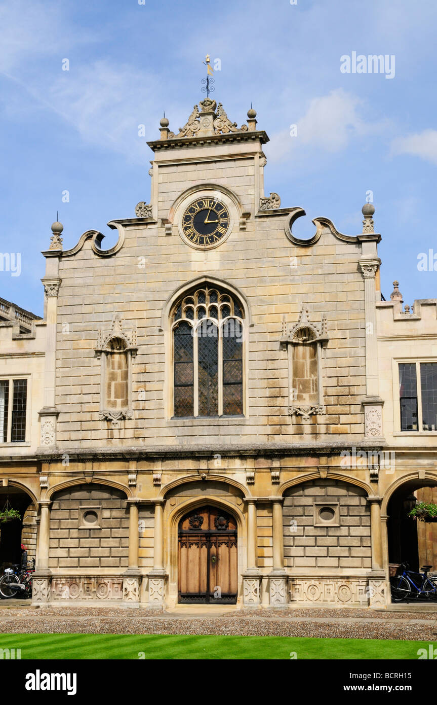 Peterhouse College Chapel, Cambridge England Uk - Stock Image