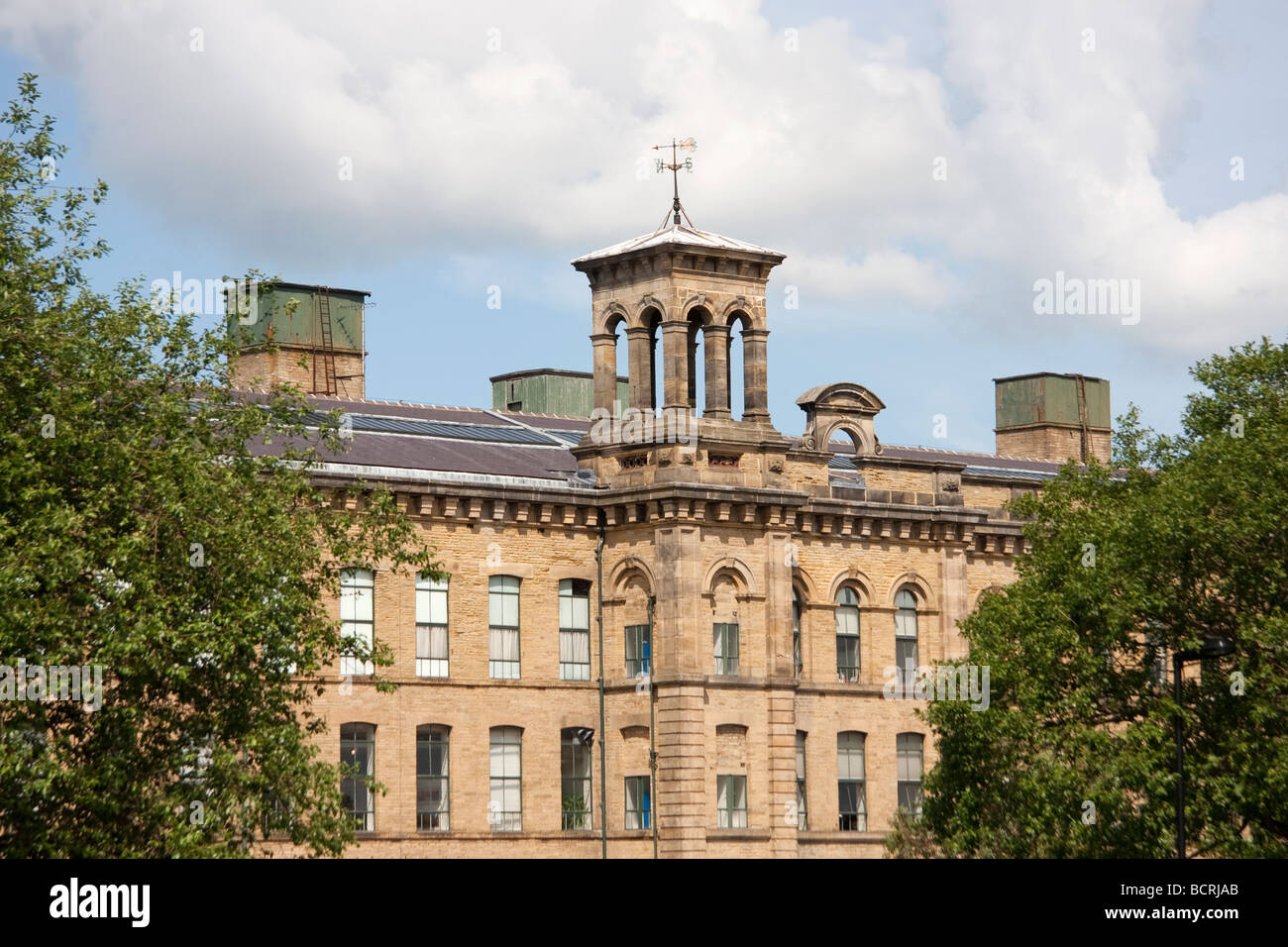 Salts Mill, Saltaire, West Yorkshire, England - Stock Image