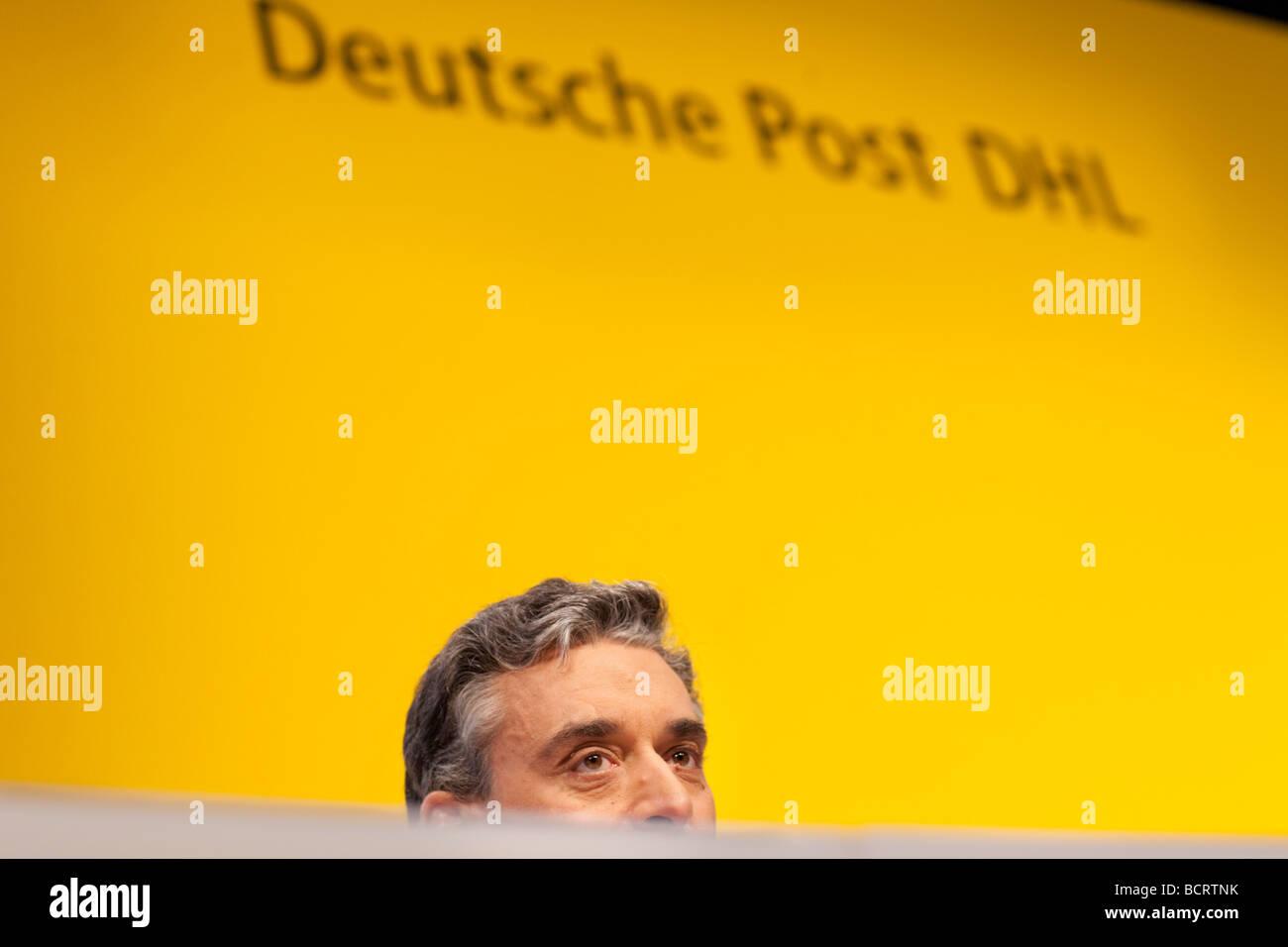 Juergen GERDES Deutsche Post DHL - Stock Image