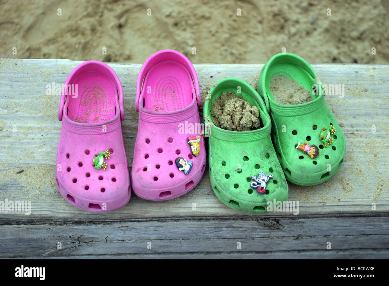9dc97e3d9 Childrens Crocs Stock Photos   Childrens Crocs Stock Images - Alamy