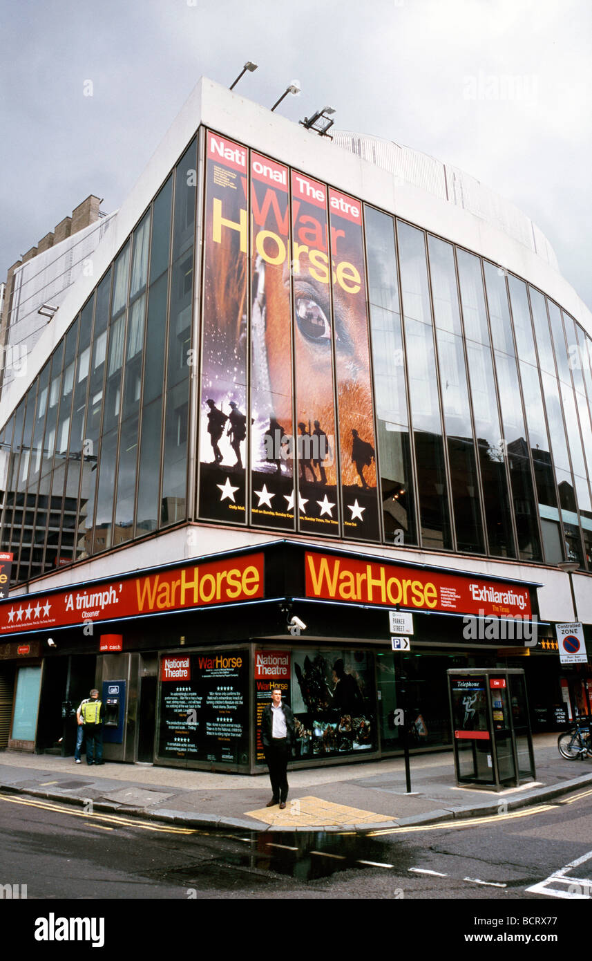 July 15, 2009 - Nick Stafford's War Horse at the New London Theatre in Covent Garden's Drury Lane. - Stock Image