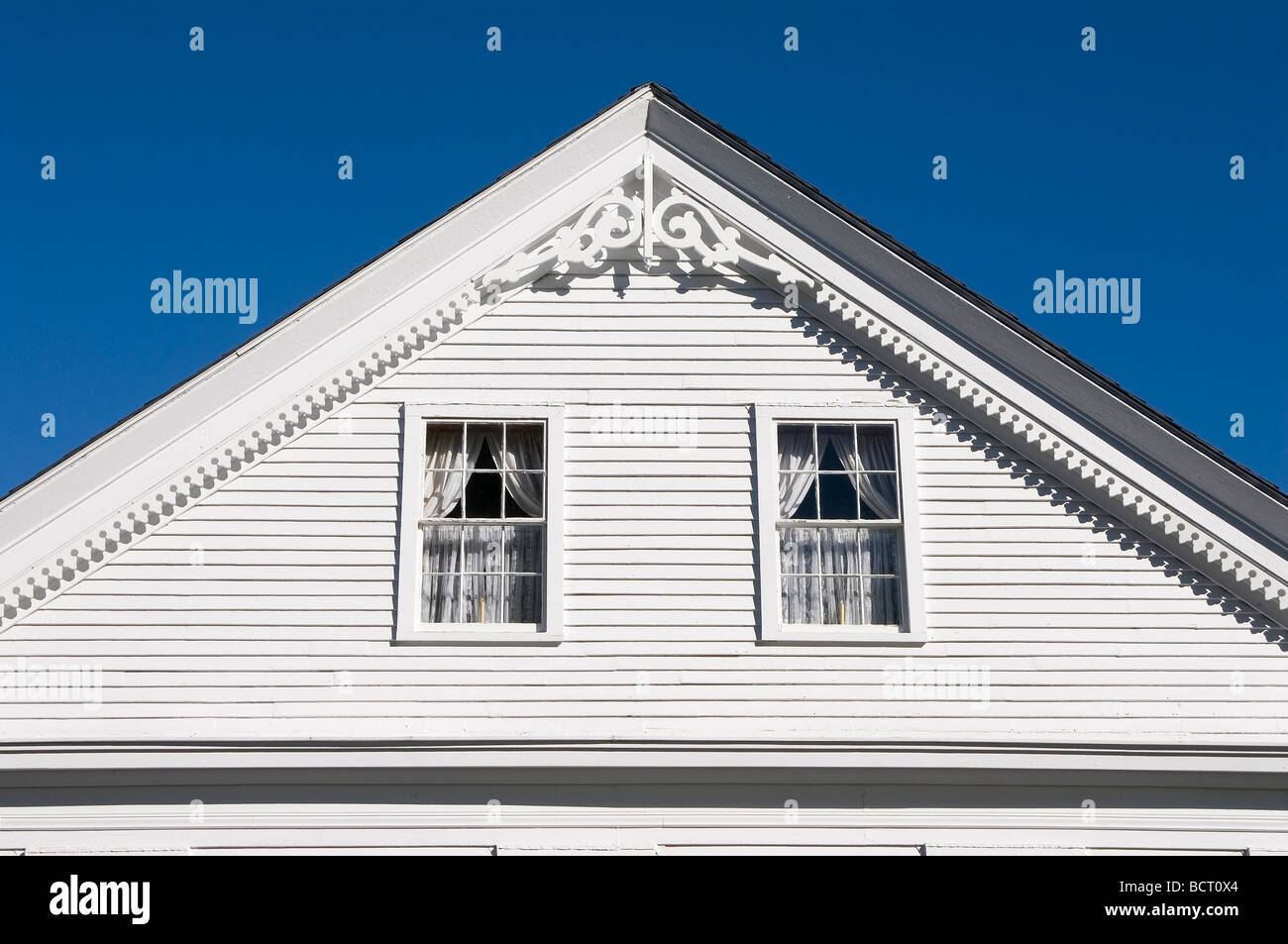 Victorian house detail - Stock Image