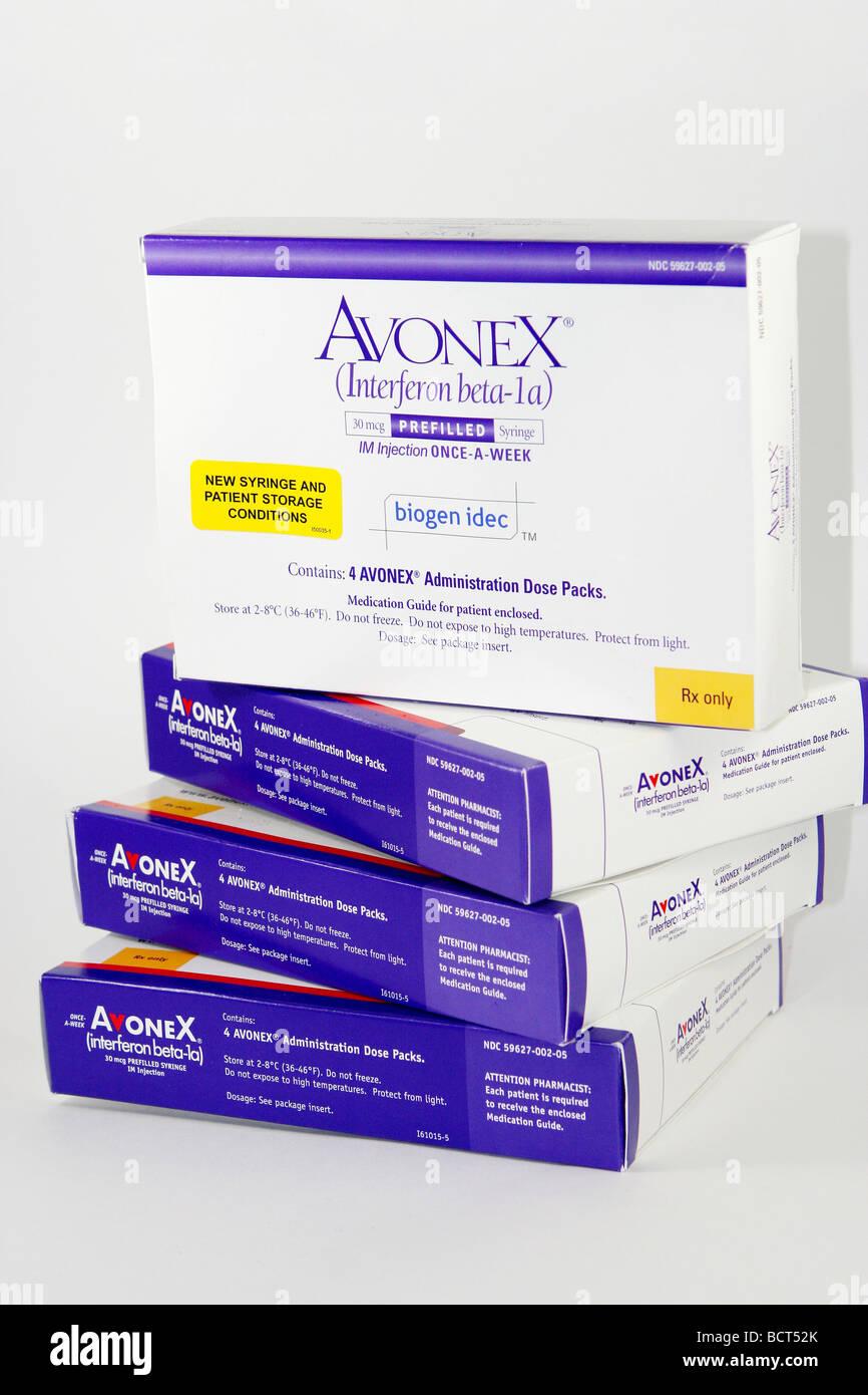 Biogen Idec Product Avonex Is The Multiple Sclerosis Ms Drug Stock
