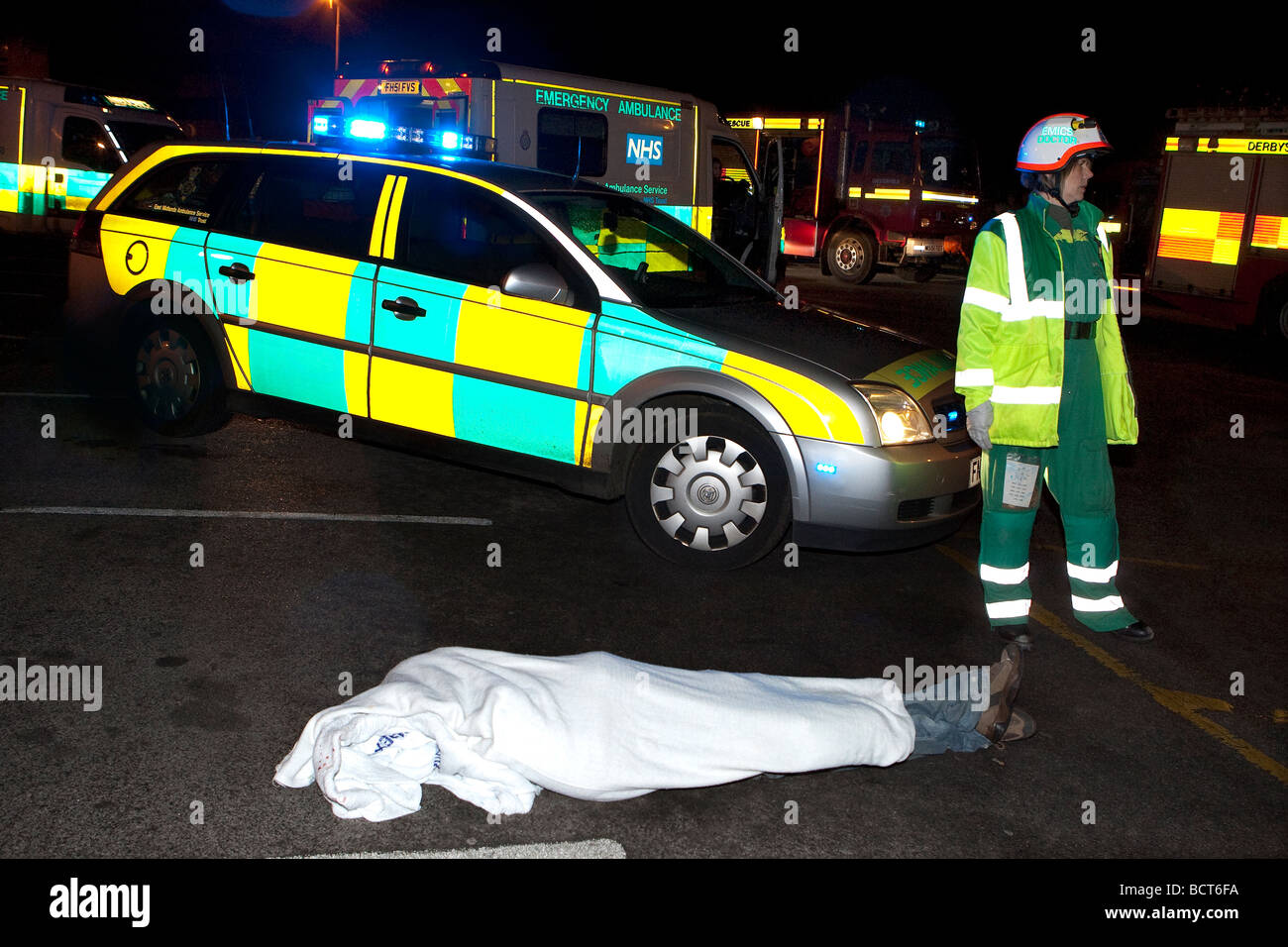 Road Traffic Accident Simulation Stock Photos & Road Traffic ...