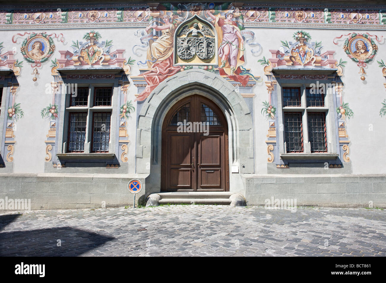 The old town hall in Lindau am Bodensee, Lake Constance, Bavaria, Germany, Europe Stock Photo
