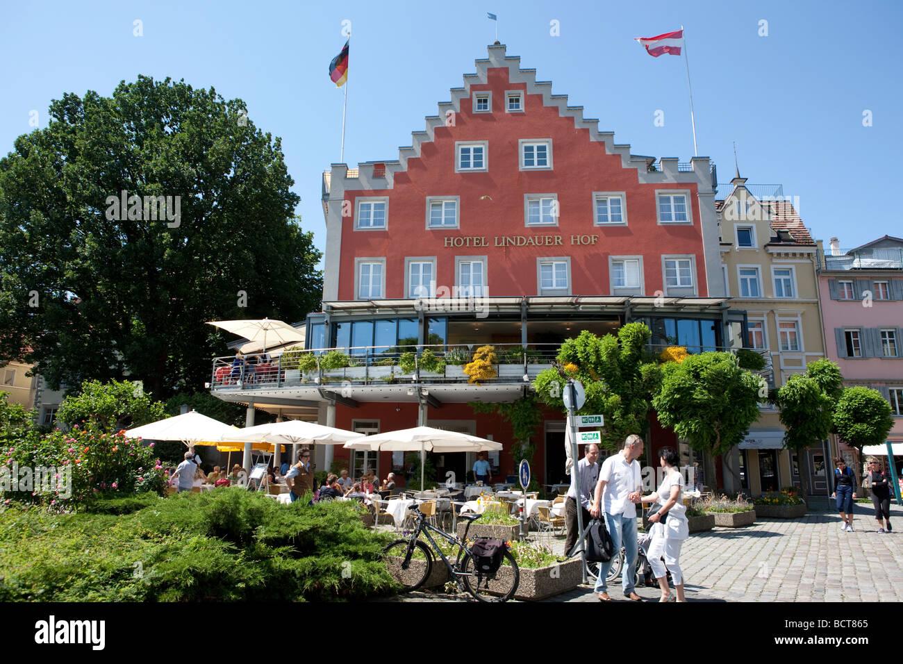 The Lindauer Hof Hotel In Lindau Lindau Am Bodensee Lake Constance