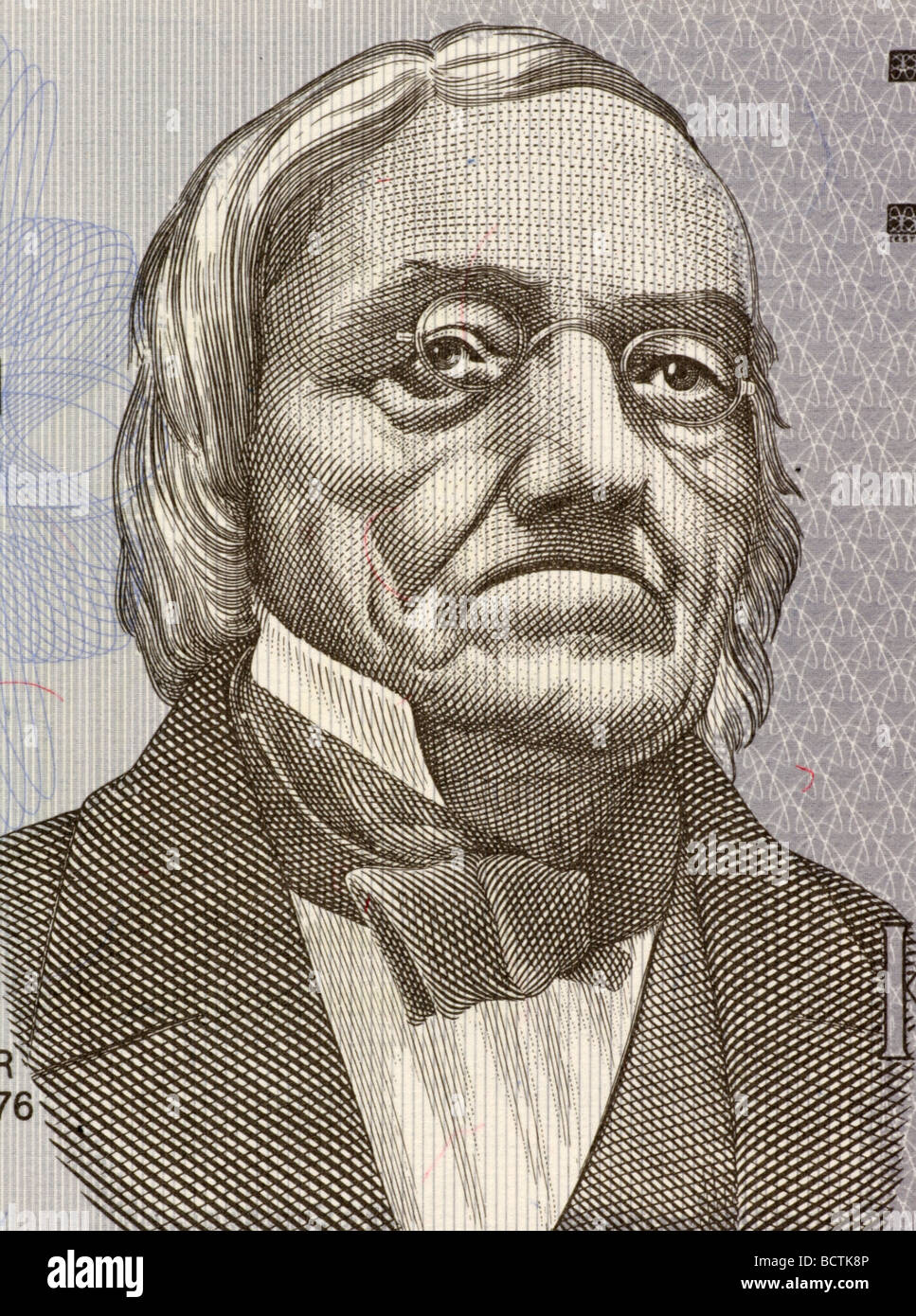 Karl Ernst von Baer on 2 Krooni 1992 Banknote from Estonia - Stock Image