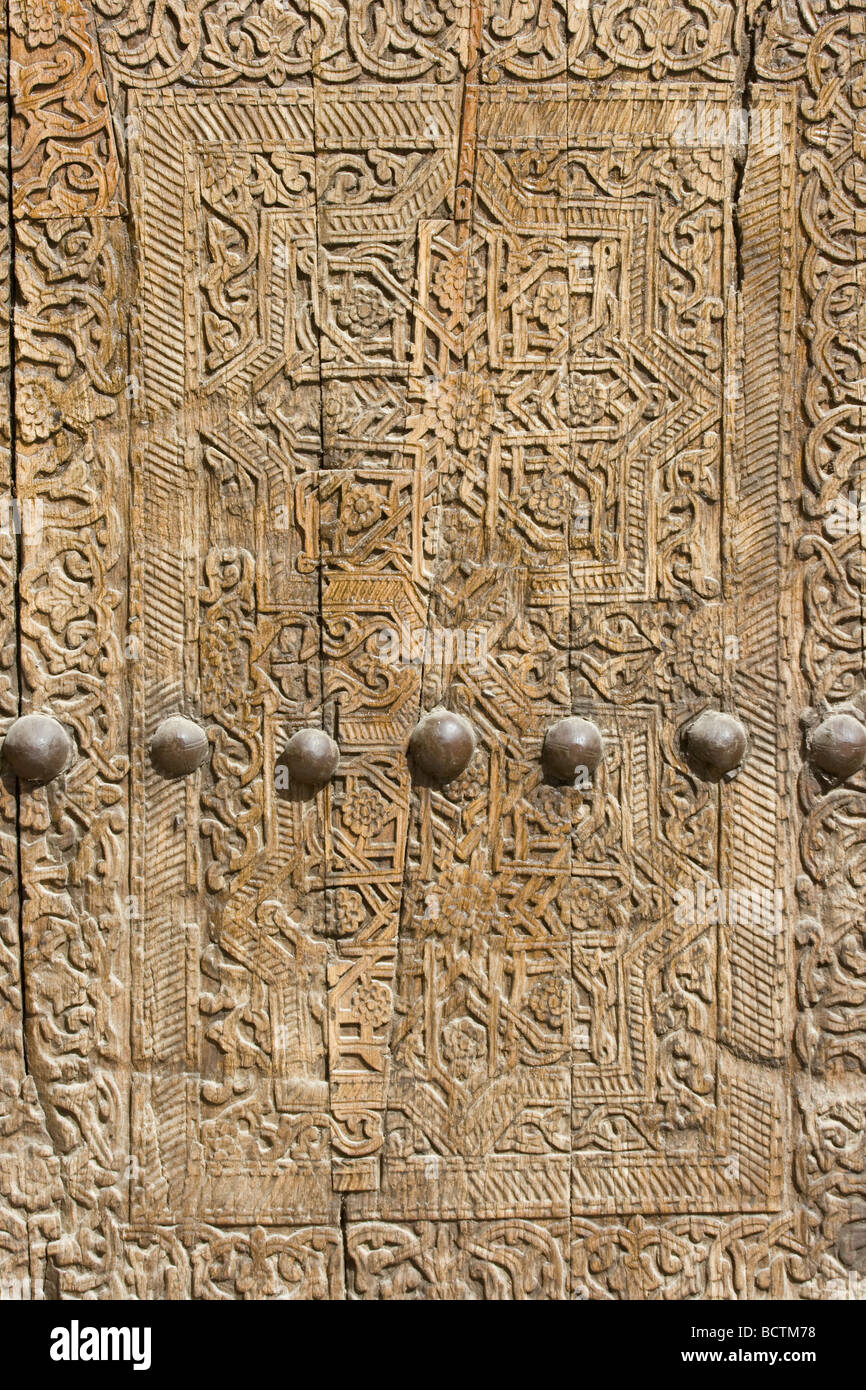 Carved Detail on a Door in the Mosque inside the Ark in Khiva Uzbekistan  sc 1 st  Alamy & Carved Detail on a Door in the Mosque inside the Ark in Khiva Stock ...