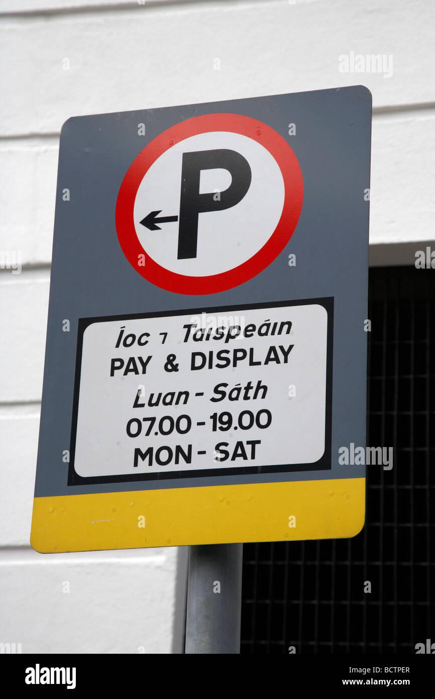 Parking Signs Dublin