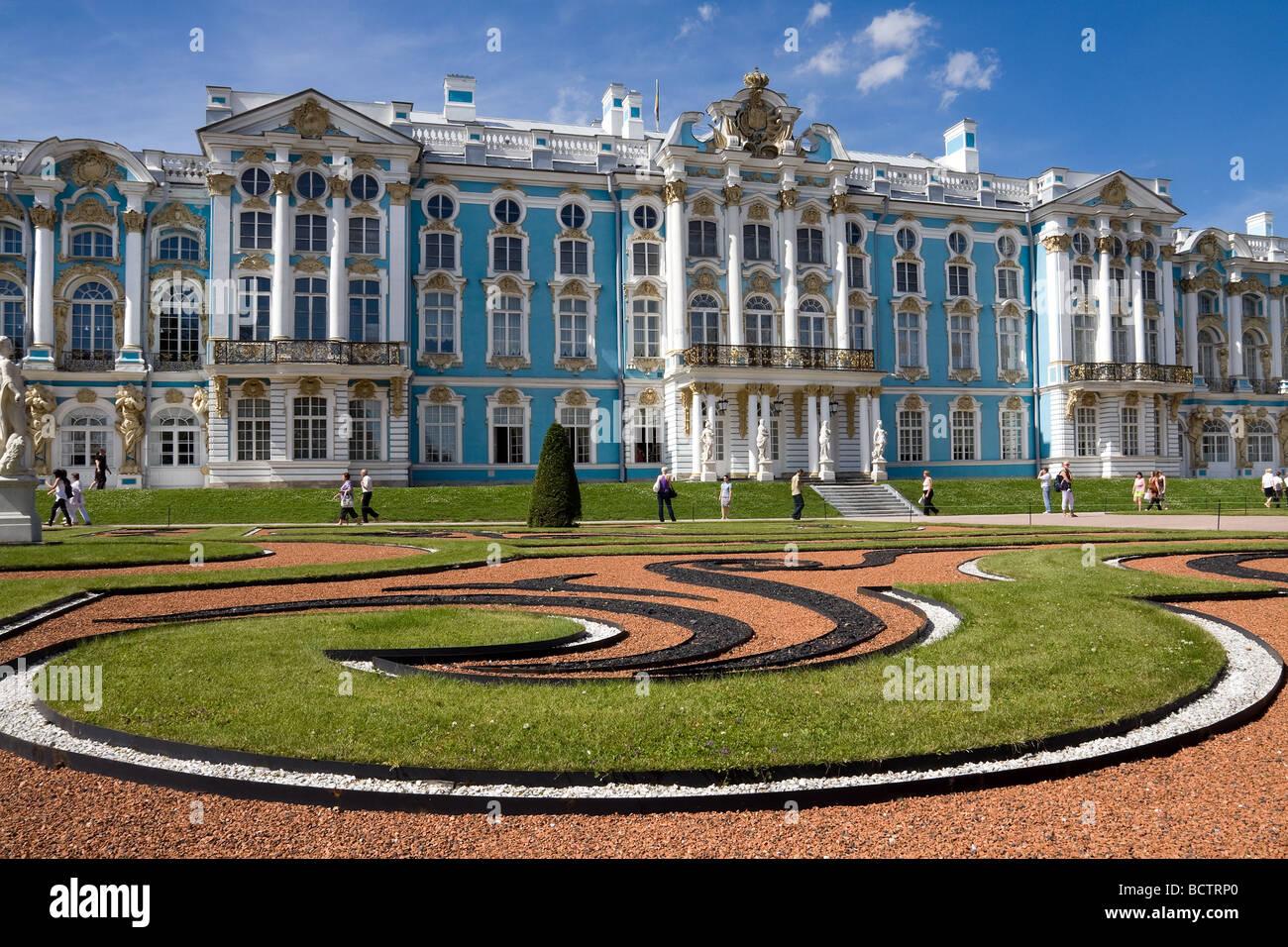 Grand Palace Pushkin Tsarskoe selo St Petersburg Russia ...