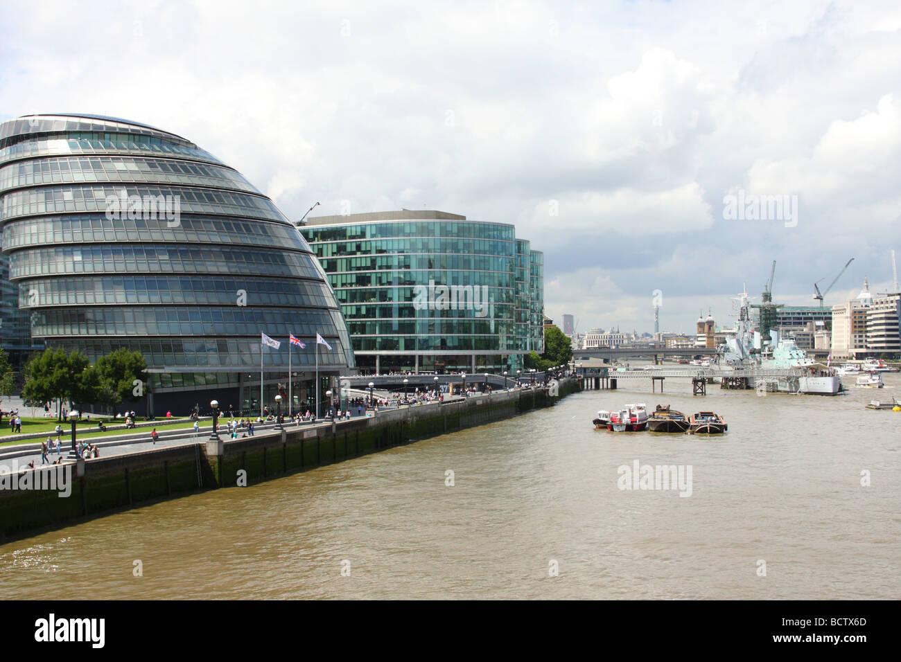 The Office of the Mayor of London & London Assembly. City Hall, London, England, U.K. - Stock Image