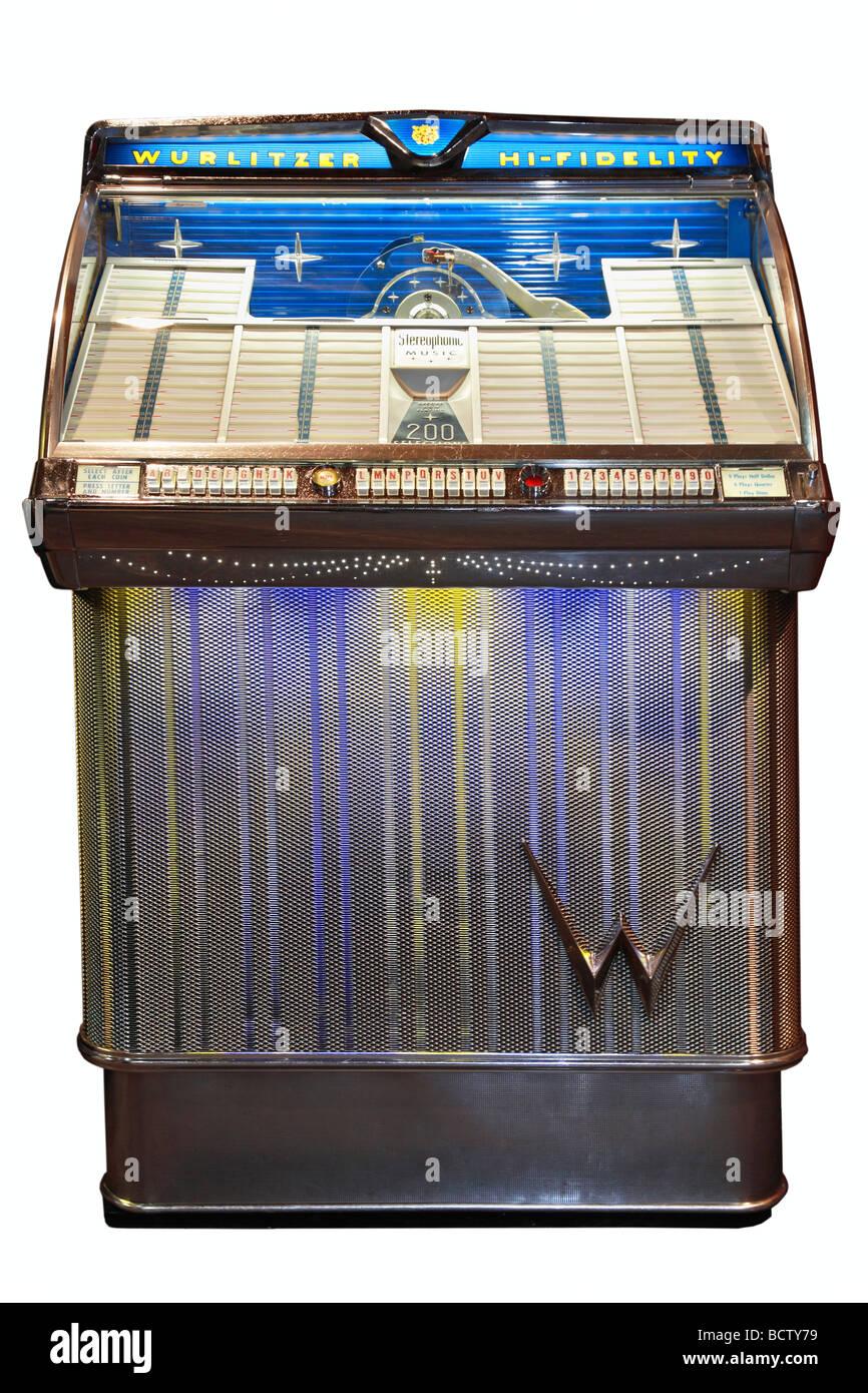 Wurlitzer 2300, 1959, jukebox - Stock Image