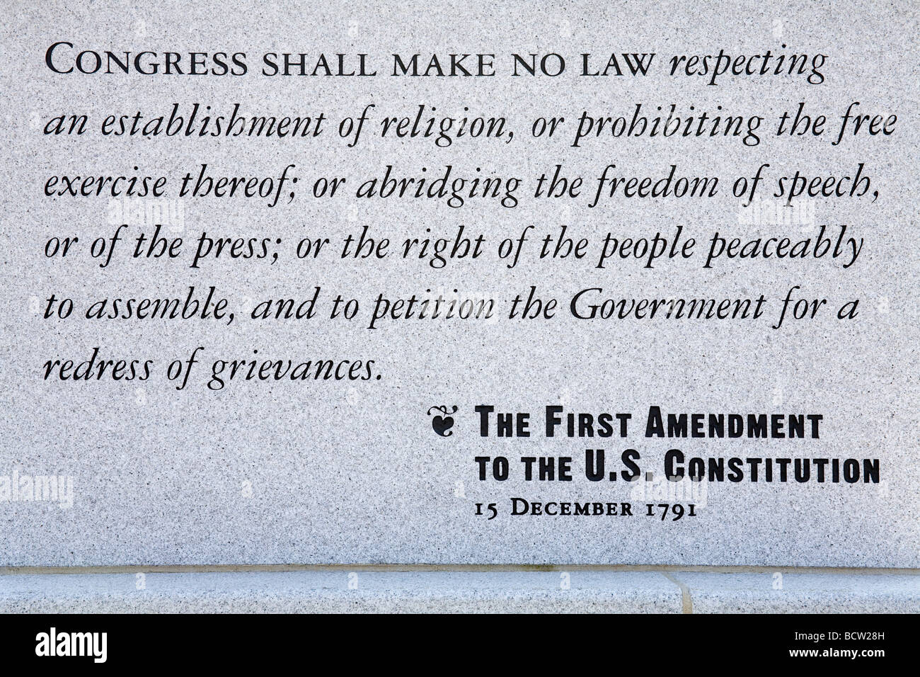 an analysis of first amendment of united states The second amendment (amendment ii) to the united states constitution protects the right of the people to keep and bear arms and was adopted on december 15, 1791 as part of the bill of rights.