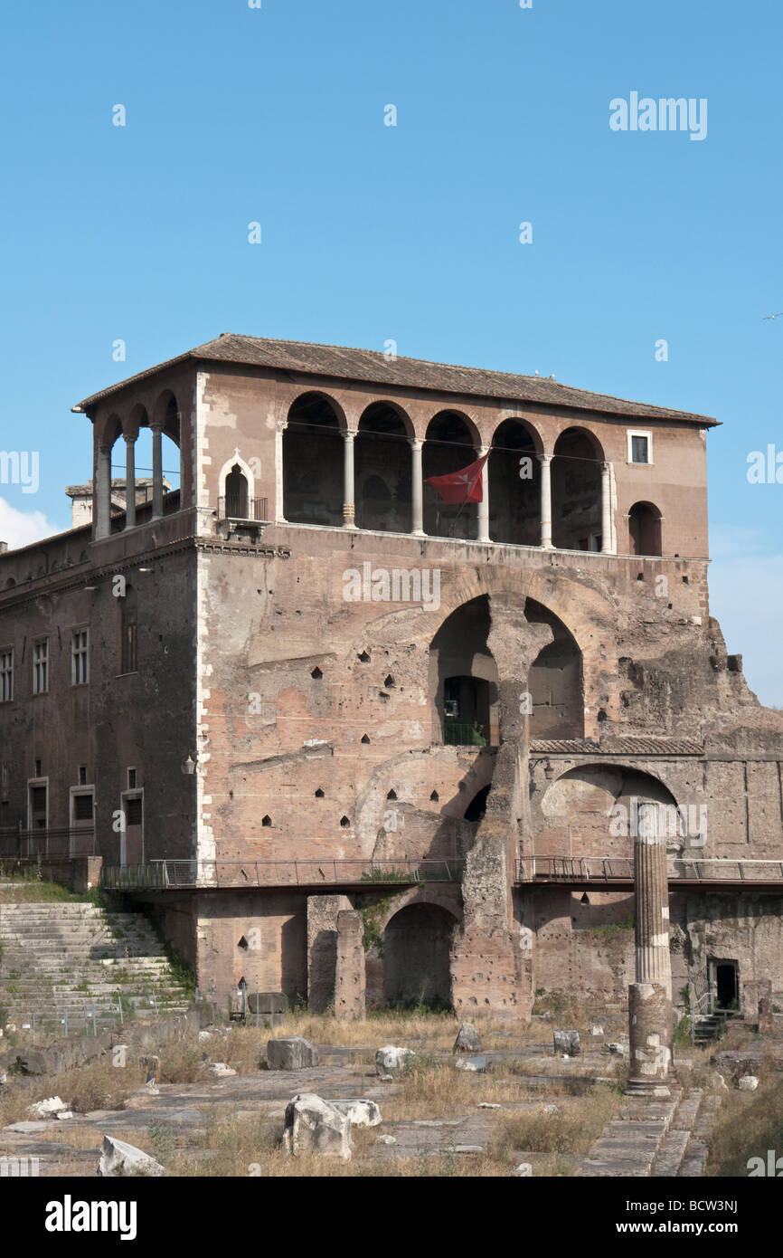 Loggia of the Houses of the Knights of Malta, in Rome Stock Photo