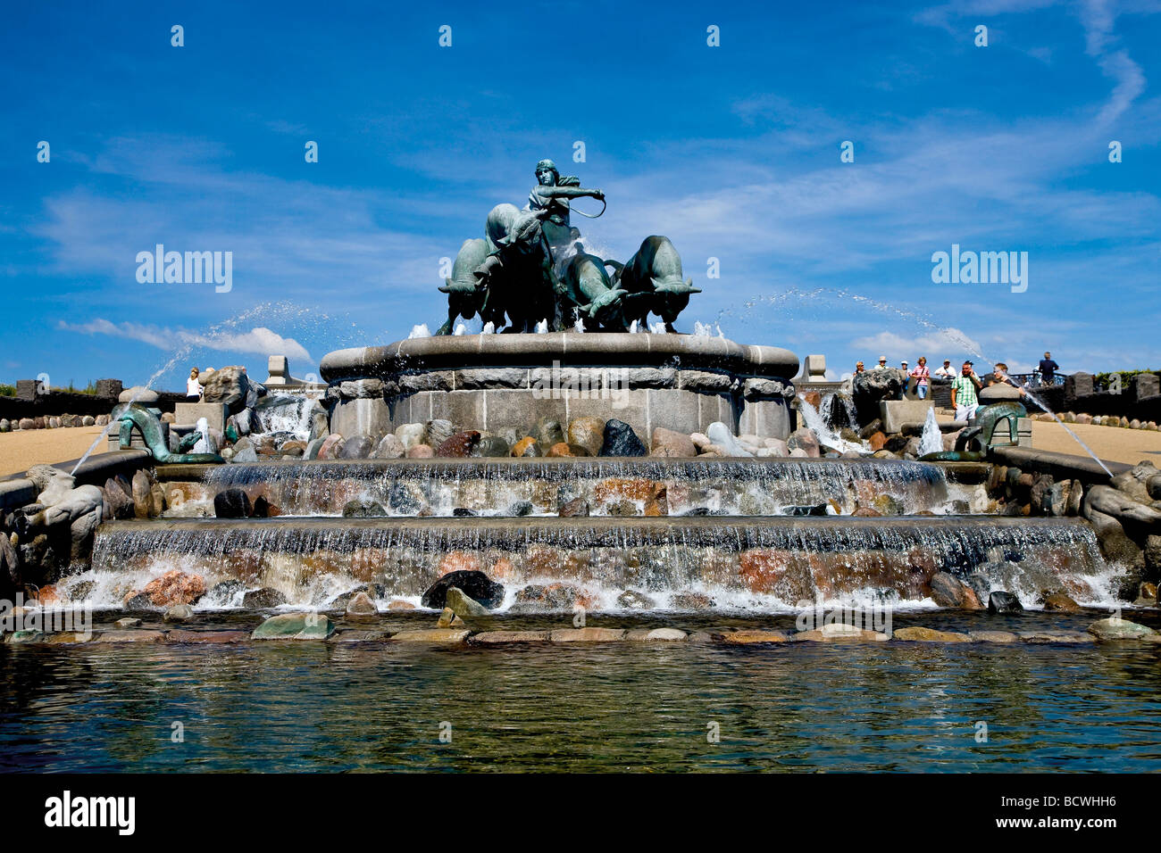 the gefion fountain at langelinie copenhagen denmark europe stock photo 25148850 alamy. Black Bedroom Furniture Sets. Home Design Ideas