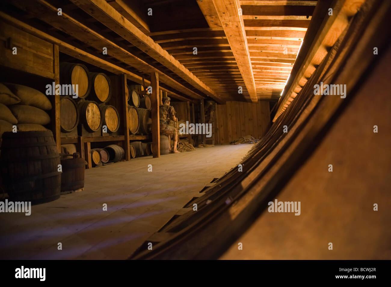 Maritime Museum Barcelona Catalonia Spain - Stock Image