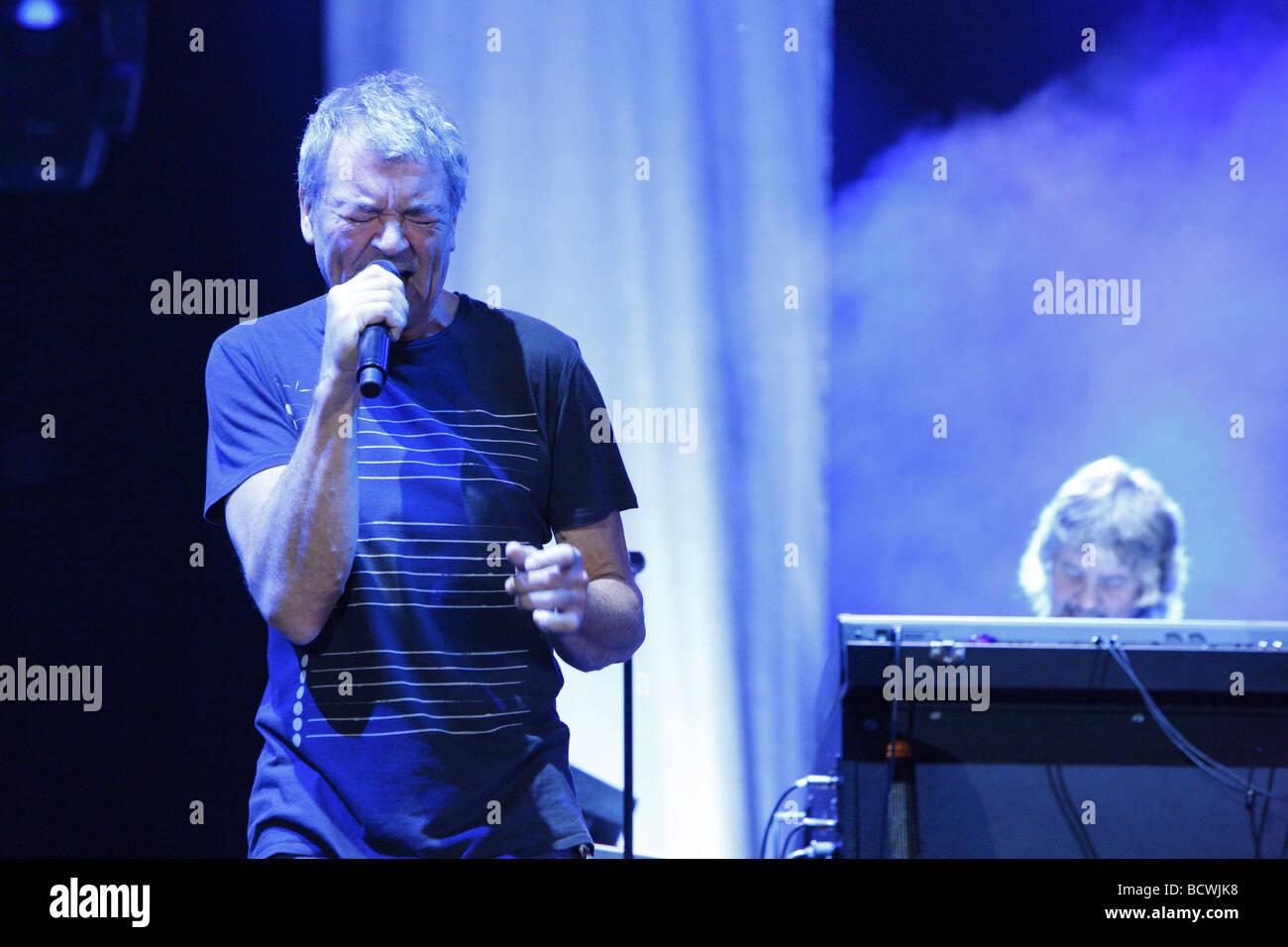 Ian Gillan, Deep Purple, English rock band, Open Air Festival, Muehldorf am Inn, Bavaria, Germany Stock Photo