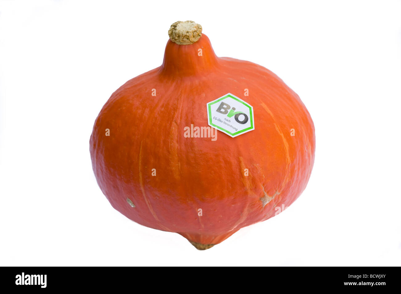 Organic Hokkaido pumpkin - Stock Image