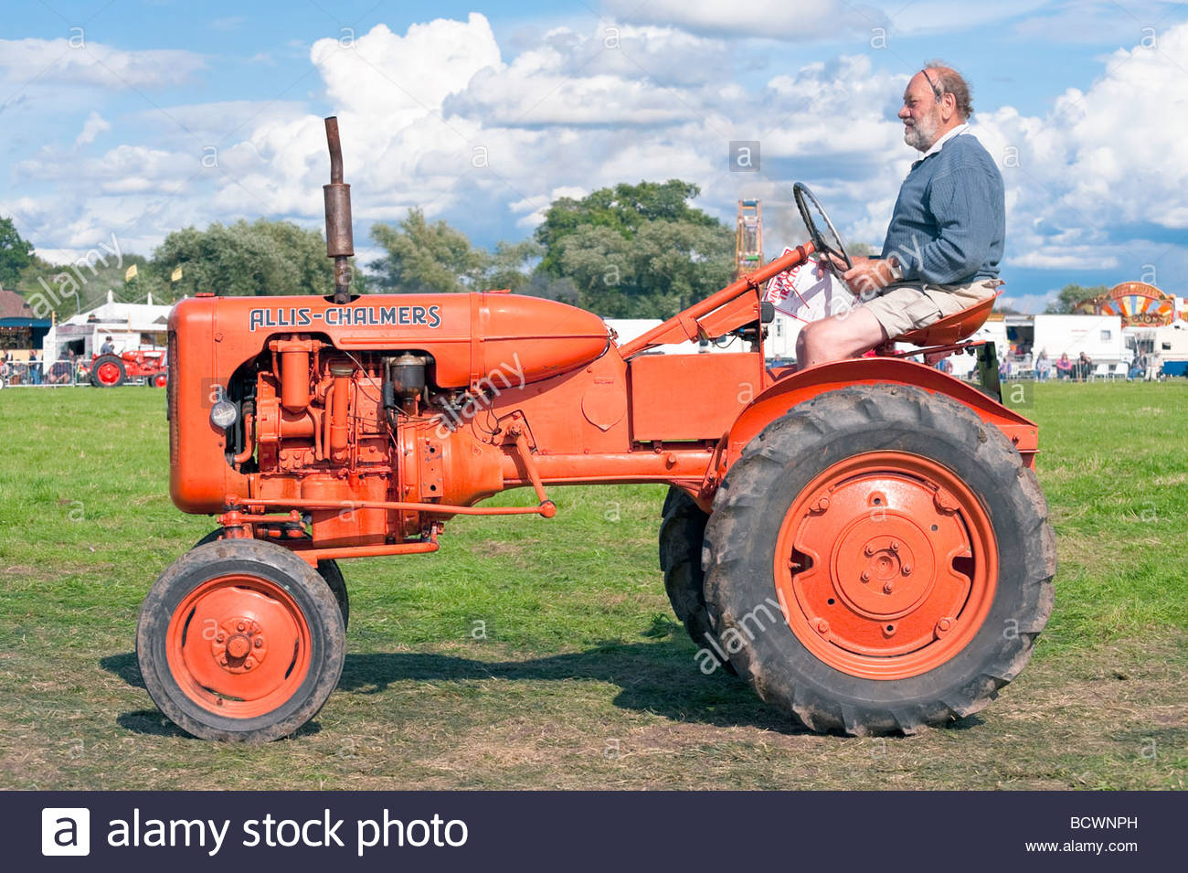 Vintage Tractor At Welland Steam Rally Uk Allis Chalmers Classic Tractor